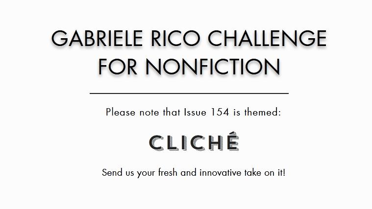 Gabriele Rico Challenge for Creative Nonfiction