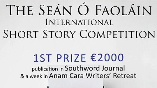 The Seán Ó Faoláin Short Story Competition
